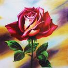 Алмазная мозаика DIY (с рамкой) LM-K20259 «Роза» 20*20 см