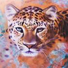 Алмазная мозаика DIY (с рамкой) LM-K20291 «Леопард» 20*20 см