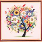 Алмазная мозаика Diamond MM1077«Волшебное дерево» 25*25 см