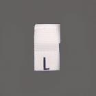Размерники вышитые (уп. 100 шт.) L белый