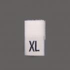 Размерники вышитые (уп. 100 шт.) XL белый
