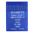 Иглы пром. маш. Schmets DP*5 (134) LR № 90 для кожи (уп. 10 шт.)