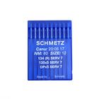 Иглы пром. маш. Schmets DP*5 (134) №80 универсальные и д/трикотажа (уп. 10 шт.)