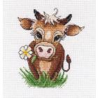 Набор для вышивания Овен №1333 «Символ года. Бычок-2» 13*12 см