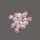 Бусины пластм.  6 мм  перламутр (уп. 10 г) 06 св.розовый