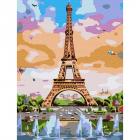 Картина по номерам Molly KH0790 «Эйфелева башня» 15*20 см