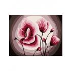 Картина по номерам Molly KH0924 «Розовые маки» 15*20 см