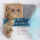 Набор текстильная игрушка АртУзор «Мягкая кукла Флер» 3548681 30 см в интернет-магазине Швейпрофи.рф