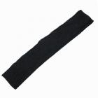 Подвяз трикотажный п/ш  ПРШ-32/2 8*60 см черный 30%шерсть 70%ПАН
