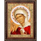 Алмазная мозаика АЖ-1840 «Икона Матрона Московская» 30*40 см