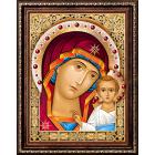 Алмазная мозаика АЖ-1841 «Икона Казанская Богородица» 30*40 см
