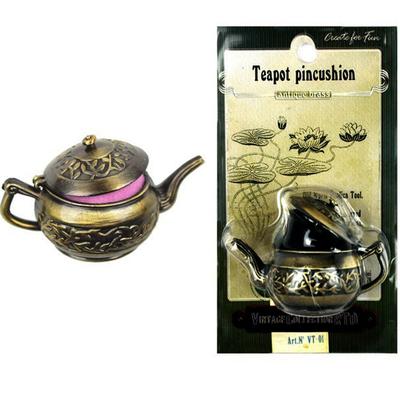Игольница RTO VT-01 «Чайник» металлический в интернет-магазине Швейпрофи.рф