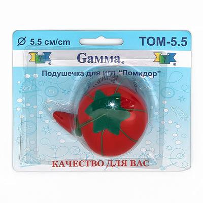 Игольница-помидор 4-5,5 см в блистере в интернет-магазине Швейпрофи.рф