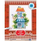 Набор для вышивания РТО MВЕ9008 «Мой милый дом. Пекарня» 10,5*15 см