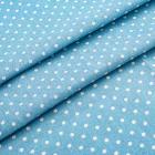 Ткань 50*50 см «Декор 4/01 » (50 % лен 50% хлопок) 25093 голубой