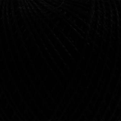 Пряжа Ирис, 25 г / 150 м,  7214 черный в интернет-магазине Швейпрофи.рф