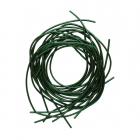Проволока декоративная (канитель) д.1,0 мм (уп. 5 гр) гладкая  559924 зелёный
