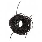 Проволока декоративная (канитель) д.1,0 мм (уп. 5 гр) гладкая  612513 чёрный
