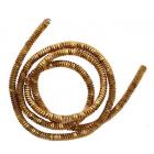 Проволока декоративная (трунцал) д.3 мм ТК011НН3 бронза (уп 5 гр)