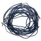 Проволока декоративная (трунцал) д.1,5 мм ТК028НН1 т. синий (уп 5 гр)
