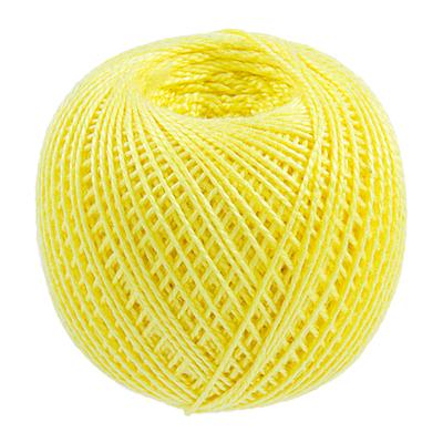 Пряжа Ирис, 25 г / 150 м, 0204 желтый в интернет-магазине Швейпрофи.рф