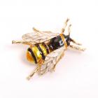 Брошь BU 07 25*31мм Пчела