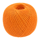 Пряжа Ирис, 25 г / 150 м, 0710 ярко-оранжевый