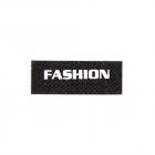 Нашивка LA94 «Fashion» 1,5*3,5 см черный