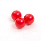 Бусины пластм. 12 мм (уп. 10 г) 058 красный