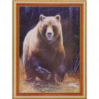 Алмазная мозаика DIY (с рамкой) Q-108 «Медведь» 20*30 см