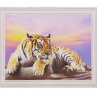 Алмазная мозаика DIY (с рамкой) Q-104 «Тигр» 20*30 см