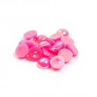 Полубусы  6 мм перламутр (уп. 10 г) 037 розовый
