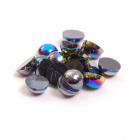 Полубусы  6 мм перламутр (уп. 10 г) 027 чёрный