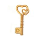 Подвеска MAGIC HOBBY MH.0211101-1 «Ключ» кулон 19*42 мм золото