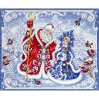 Набор для вышивания М.П.Студия НВ-681 «Зимняя сказка» 40*50 см
