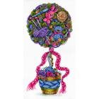 Набор для вышивания М.П.Студия НВ-690 «Топиарий уюта» 18*36 см