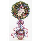 Набор для вышивания М.П.Студия НВ-691 «Топиарий радости» 18*36 см