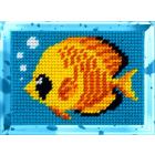 Набор для вышивания с пряжей BAMBINI  X2148 «Рыбка» 10*14 см