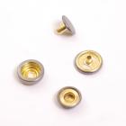 Кнопки установочные 15*15 мм нержав. (уп. 720 шт.) т.никель