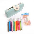Набор для вязания  в сумке (крючки + принадлежности)