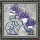 Ткань с рисунком для вышивания бисером «Конек 9463 Прованс» 40*40 см