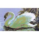 Алмазная мозаика D 2301 «Лебедь»