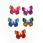Термоаппликация H3092 «Бабочки» 5*6 см уп.9 шт.