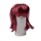 Волосы для кукол П 50 (прямые) 28522 бордо