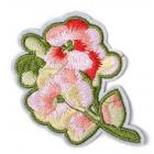 Термоаппликация TBY.2199 Цветы 6*8 см