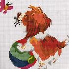 Алмазная мозаика D 2550 «Собака с мячиком»