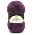 Астория (Камтекс),  50 г / 180 м, 412 бордово-фиолетовый