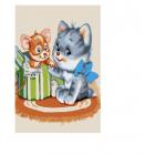 Картина по номерам Molly KH0272  «Сюрприз»  20*30 см