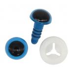 Глаза винтовые Астра 5 мм с фиксатором (уп 24шт) голубой 7722409