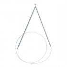 Крючок для тунисского вязания SH2 80 см циркулярный 3,5 мм